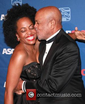 Rhonda Ross Kendrick and Berry Gordy