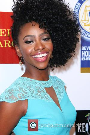 Teyonah Parris - 24th annual NAACP Theatre Awards - Arrivals at Saban Theatre - Beverly Hills, California, United States -...