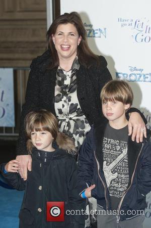 Kirstie Allsopp and Guests - Frozen Sing-Along Gala Night held at the Royal Albert Hall - Arrivals. at Royal Albert...