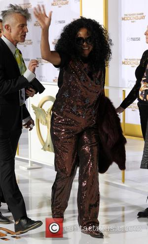 Diana Ross - 'The Hunger Games: Mockingjay - Part 1' Los Angeles premiere at Nokia Theatre - Arrivals at Nokia...
