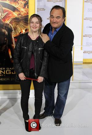 Jim Belushi and Jamison Bess Belushi - 'The Hunger Games: Mockingjay - Part 1' Los Angeles premiere at Nokia Theatre...