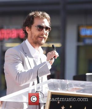 Matthew McConaughey Honoured With Star On Hollywood Walk Of Fame