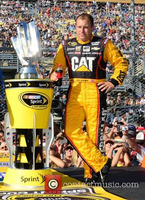 Ryan Newman and driver of the #31 Caterpillar Chevrolet - Shots of the pre-race build up to the NASCAR sprint...