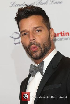 Ricky Martin - The Global Gift Gala London 2014 held at the Four Seasons hotel - Arrivals - London, United...