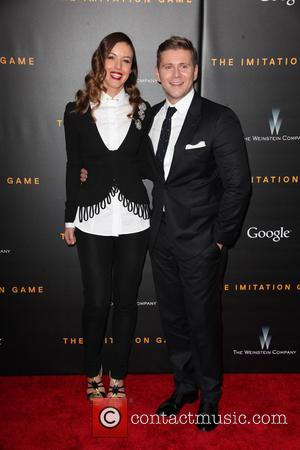 Charlie Webster and Allen Leech - New York premiere of 'The Imitation Game' at The Ziegfeld Theatre - Red Carpet...