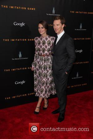 Keira Knightley and Benedict Cumberbatch
