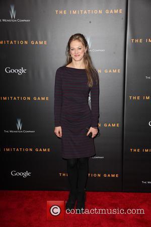 Marin Ireland - New York premiere of 'The Imitation Game' at The Ziegfeld Theatre - Red Carpet Arrivals at Ziegfeld...