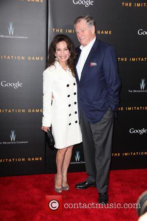 Susan Lucci and Helmut Huber - New York premiere of 'The Imitation Game' at The Ziegfeld Theatre - Red Carpet...