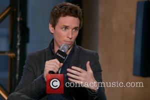 Eddie Redmayne - Photo's from AOL's BUILD Speaker Series which was attended by a variety of stars in Manhattan, New...