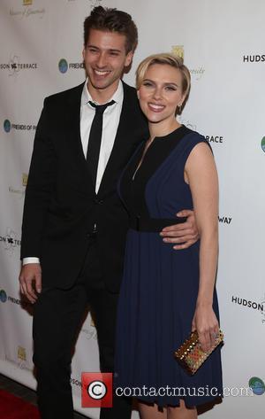 Hunter Johansson and Scarlett Johansson