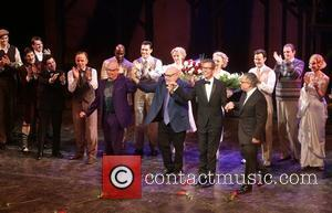 Anthony Van Laast, Henry Krieger, Bill Russell, Bill Condon and Cast