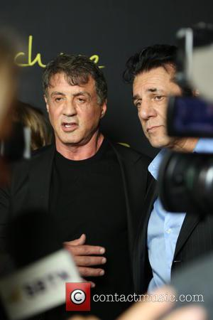 Sylvester Stallone - Photographs of a variety of stars as they arrived at the premiere for 'Reach Me' which was...
