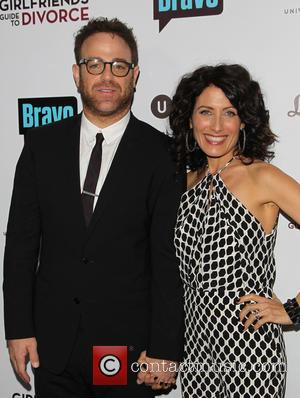 Paul Adelstein and Lisa Edelstein - Photographs of a variety of stars as they arrived at the premiere for Bravo's...