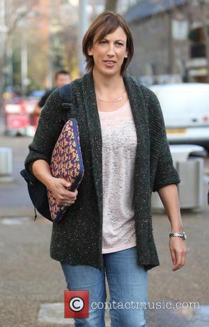 Miranda Hart - Miranda Hart outsde the ITV studios - London, United Kingdom - Tuesday 18th November 2014