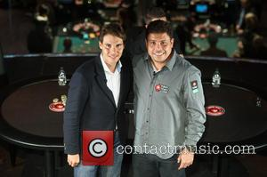 Rafael Nadal and Ronaldo - Rafael Nadal v Ronaldo poker duel held at the Hippodrome Casino. - London, United Kingdom...