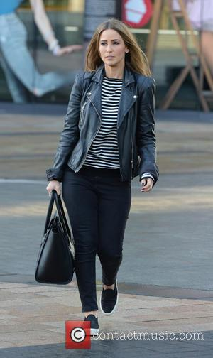 Rachel Stevens - S Club 7 leave the BBC Breakfast Studio, Media City, Manchester after appearing on the show. -...