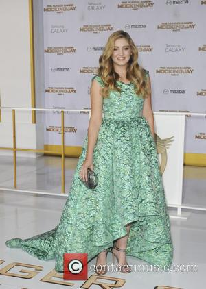 Willow Shields - Premiere of The Hunger Games Mockingjay  Part One - Los Angeles, California, United States - Tuesday...