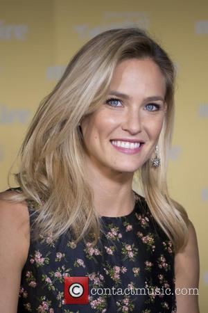 Israeli fashion model Bar Refaeli was photographed as she arrived for the Marie Claire XII Fashion Prix awards which were...