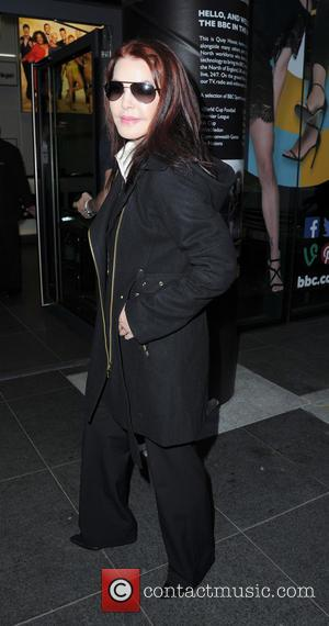 Priscilla Presley - Celebrities at the BBC Breakfast studios in Media City - Manchester, United Kingdom - Wednesday 19th November...