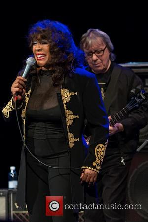 Mary Wilson and Bill Wyman