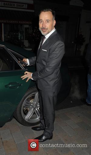 David Furnish - A variety of celebs were photographed as they arrived to dine out at the Chiltern Firehouse restaurant...