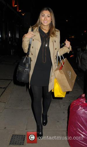 Luisa Zissman - A variety of celebs were photographed as they arrived to dine out at the Chiltern Firehouse restaurant...