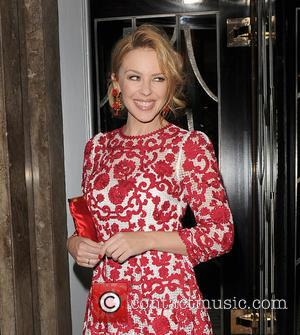 Kylie Minogue - A host of stars attended the unveiling party for Claridge's Christmas Tree which was held at Claridge's...