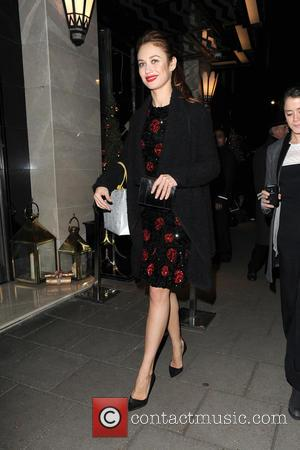 Olga Kurylenko - A host of stars attended the unveiling party for Claridge's Christmas Tree which was held at Claridge's...