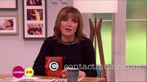 Lorraine Kelly - Lorraine, Shown on ITV1 HD -  - Wednesday 19th November 2014