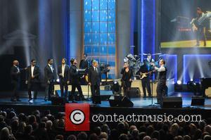 Boyz II Men, Josh Groban, Gavin DeGraw, Natalie Maines and Kevin Spacey - Shots from the Library of Congress Gershwin...