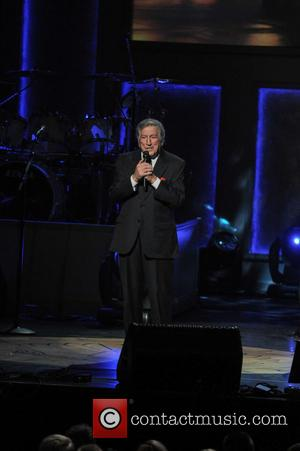 Tony Bennett - Shots from the Library of Congress Gershwin Prize for Popular Song Tribute Concert which was held at...