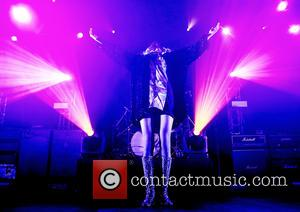 Taylor Momsen and The Pretty Reckless - Shots of the American rock band The Pretty Reckless as they performed live...