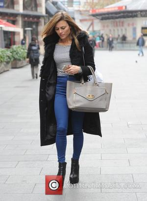 Zoe Hardman - Zoe Hardman seen out and about in London - London, United Kingdom - Wednesday 19th November 2014