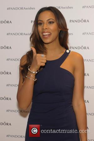 Rochelle Humes - British pop star couple Marvin and Rochelle Humes were photographed as they attended a Pandora jewelry store...