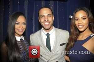 Sarah Jane Crawford, Marvin Humes and Rochelle Humes