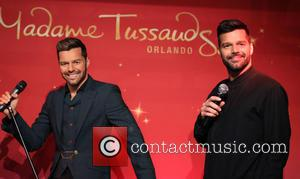Ricky Martin - Ricky Martin Unveils Wax Figure at Madame Tussauds at The Venetian Resort and Casino Las Vegas at...