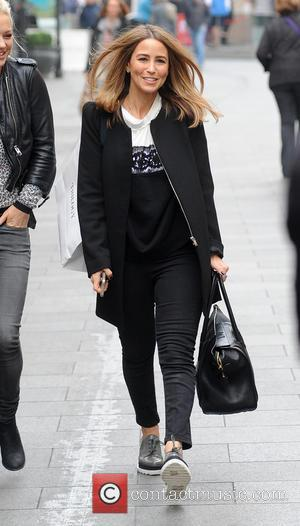 Rachel Stevens - S Club 7 at Capital Radio - London, United Kingdom - Wednesday 19th November 2014