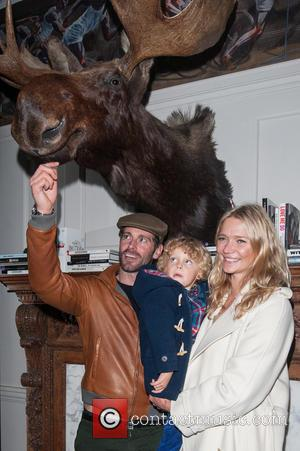 Jodie Kidd, David Blakeley and Indio Vianini Kidd
