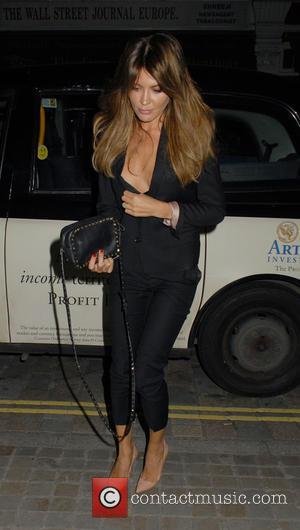Danielle Lineker - Celebrities at Chiltern Firehouse restaurant in Marylebone - London, United Kingdom - Thursday 20th November 2014
