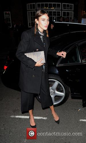 Alexa Chung - David Beckham hosts 'Alistair Mackie: Another Man: Men's Style Stories' book launch party at Mark's Club in...