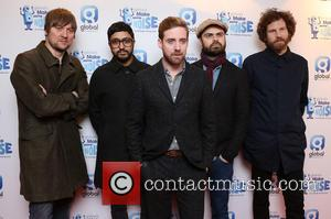 The Kaiser Chiefs - Shots of a variety of celebrities as they arrive at Global's 'Make Some Noise Night' a...