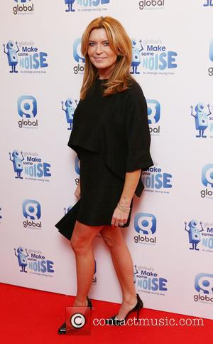 Tina Hobley - Shots of a variety of celebrities as they arrive at Global's 'Make Some Noise Night' a night...