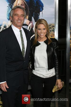 Robert F. Kennedy Jr. and Cheryl Hines Kennedy - Photographs of a variety of stars as they arrived for the...