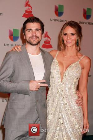 Juanes and Karen Martinez - A host of celebrities were snapped as they attended the 2014 Latin Grammy Awards which...