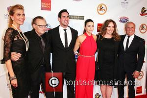 Shawn King, Larry King, Josh Murray, Andi Dorfman, Catherine Bach and Peter Repovich