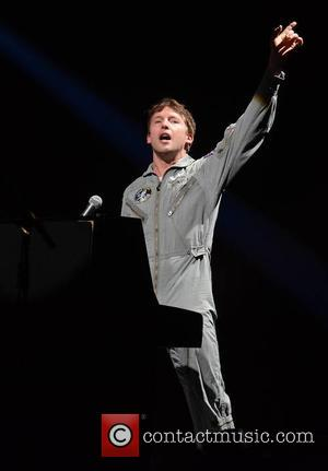 James Blunt - James Blunt performs live in concert at the 3Arena during his 'Moon Landing World Tour' - Dublin,...