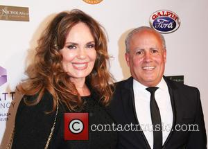 Catherine Bach and Peter Repovich - 13th Annual LAPD Eagle & Badge Foundation Gala held at the Hyatt Regency Century...