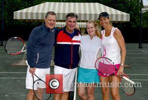 Chris Evert, Guest, Maeve Anne Quinlan, Brenda Schultz Mccarthy and Tennis