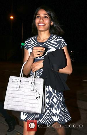 Freida Pinto - 'Slumdog Millionaire' actress Freida Pinto arrives at Craig's restaurant in West Hollywood - Beverly Hills, California, United...