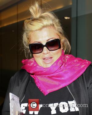 Gemma Collins - Gemma Collins arrives at Heathrow after walking out of I'm a Celebrity - London, United Kingdom -...